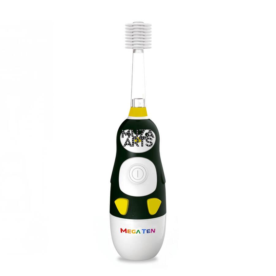 Детская электрическая зубная щетка MegaTen Kids Sonic | Пингвин