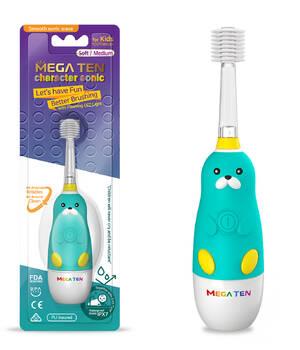 Детская электрическая зубная щетка Megaten Kids Sonic | Морж